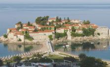 Badplaats Budva Montenegro